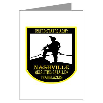 NRB - M01 - 02 - DUI - Nashville Recruiting Battalion - Greeting Cards (Pk of 20)